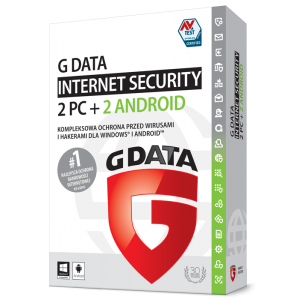 G DATA Internet Security 2PC + 2 Android